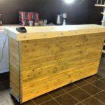 Pallets Wood Made Bar