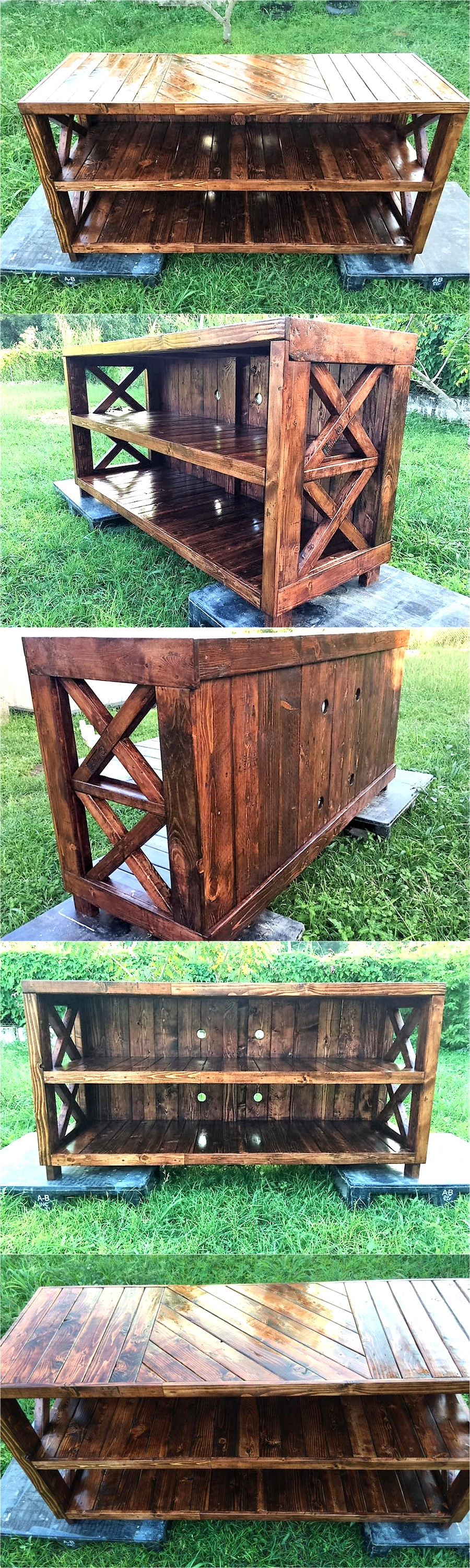 pallets-made-entertainment-center