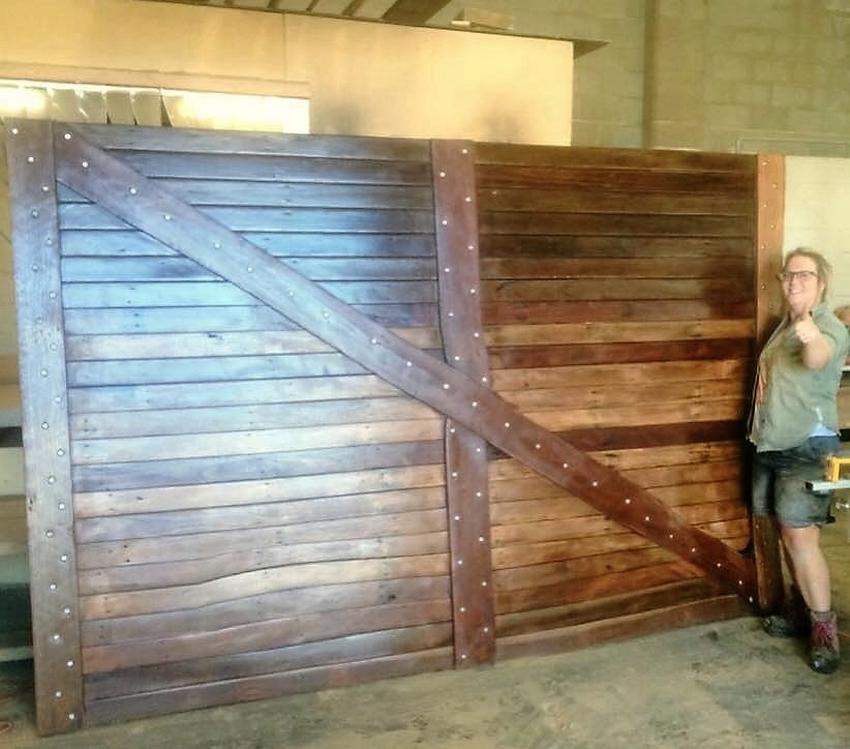 pallet-wood-gate