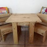 Kids Study Furniture Made with Pallets