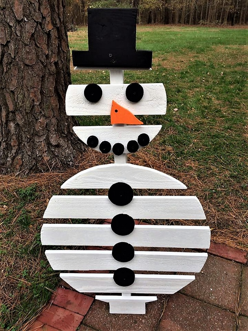 pallet-wood-snowman