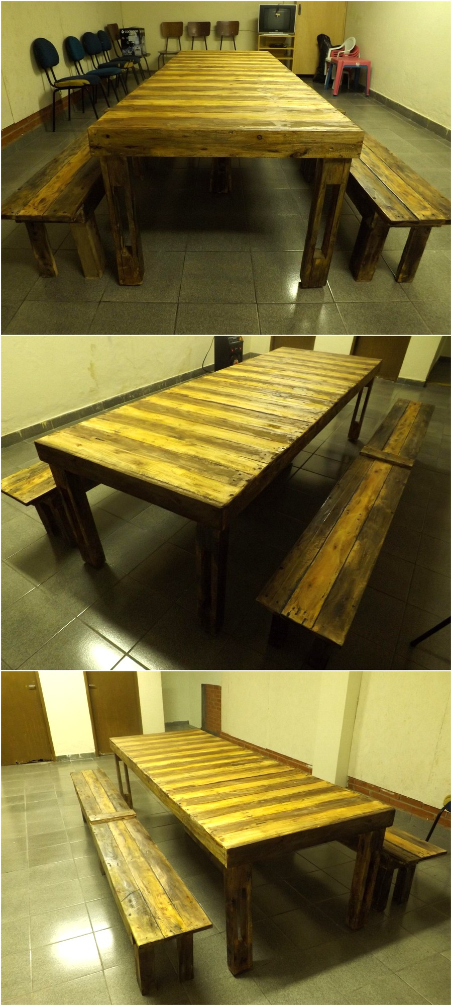 Pallets Made Dinning Set