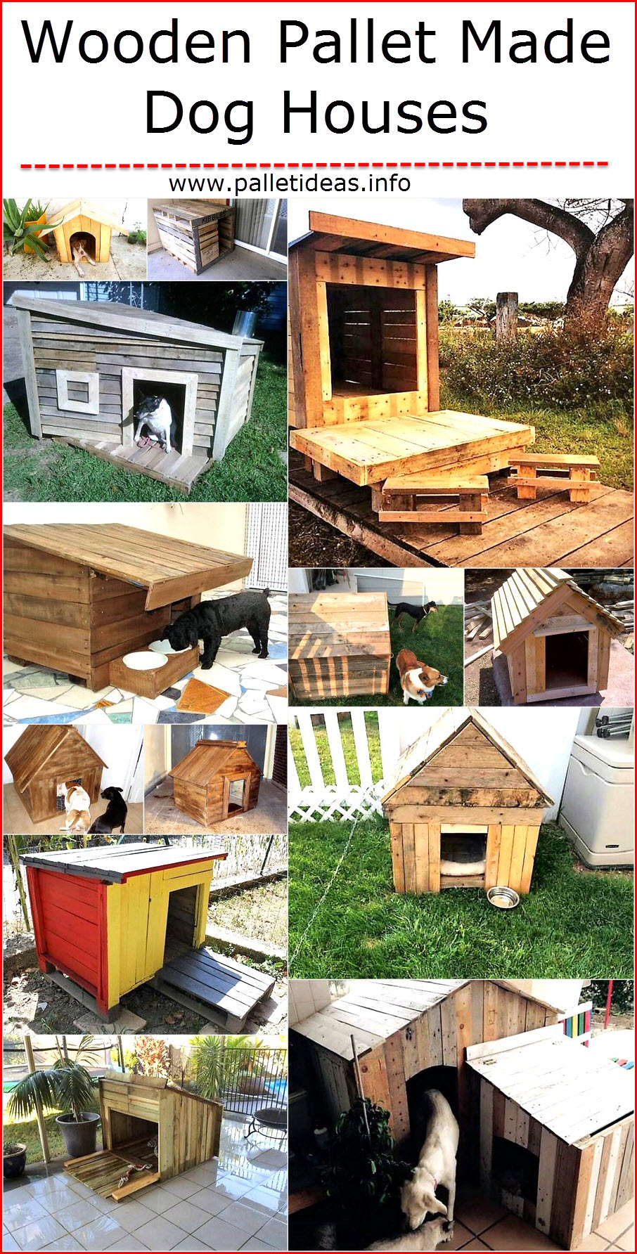 wooden-pallet-made-dog-houses