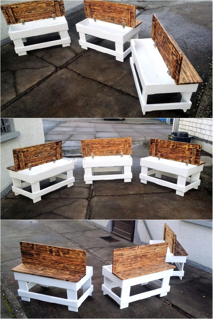 recycling ideas for used shipping pallets pallet ideas. Black Bedroom Furniture Sets. Home Design Ideas