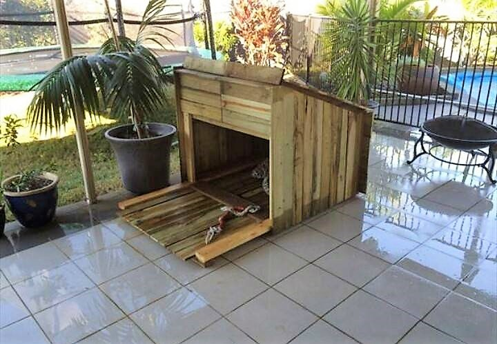 pallet-dog-houses