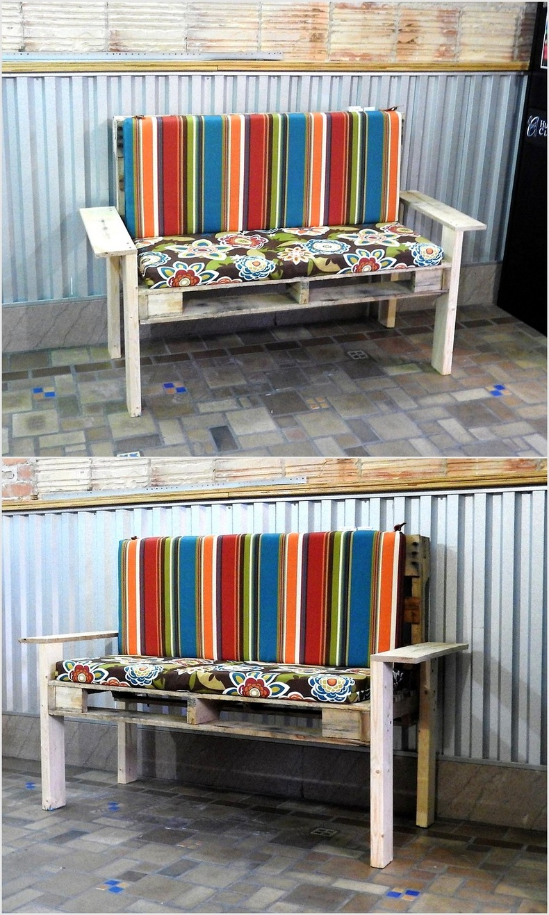 pallet-patio-bench