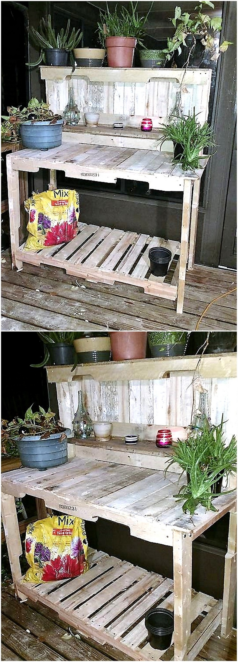 pallet-potting-table