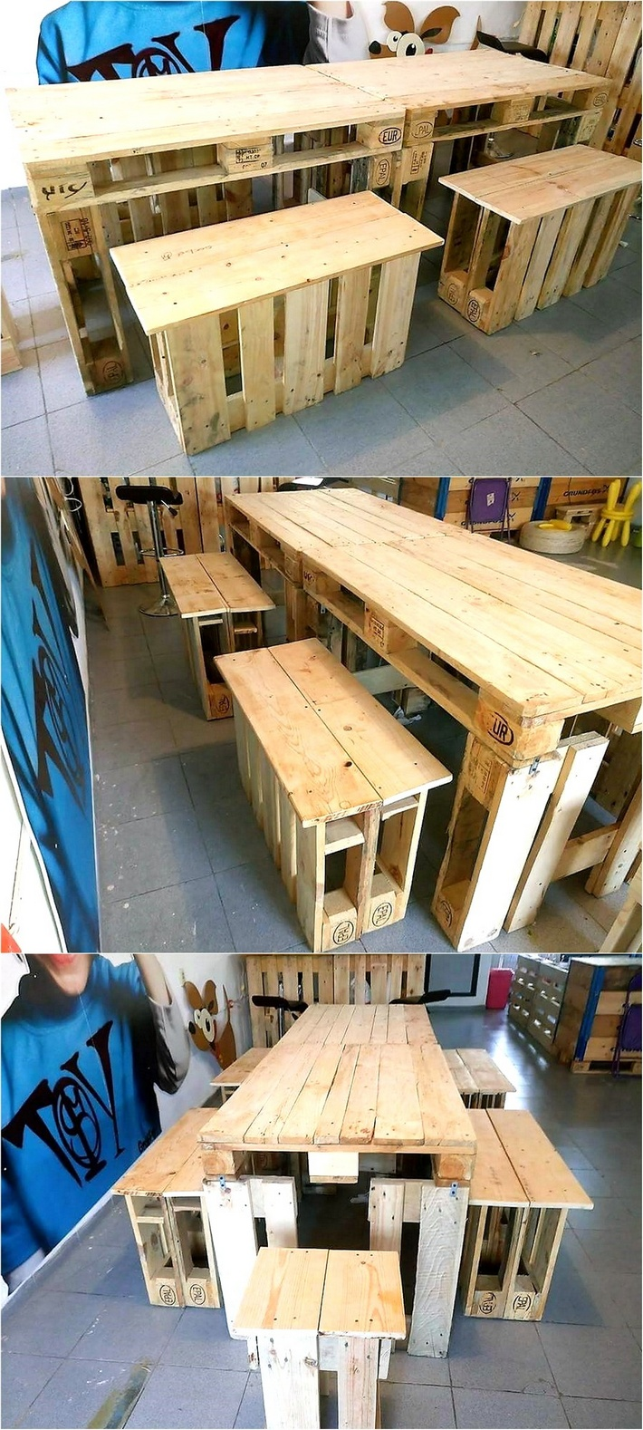 pallet-wooden-dinning-table