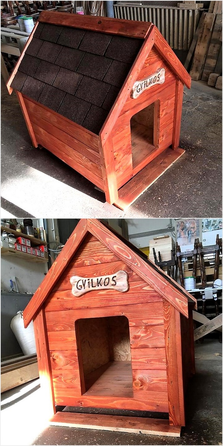 pallets-made-dog-house