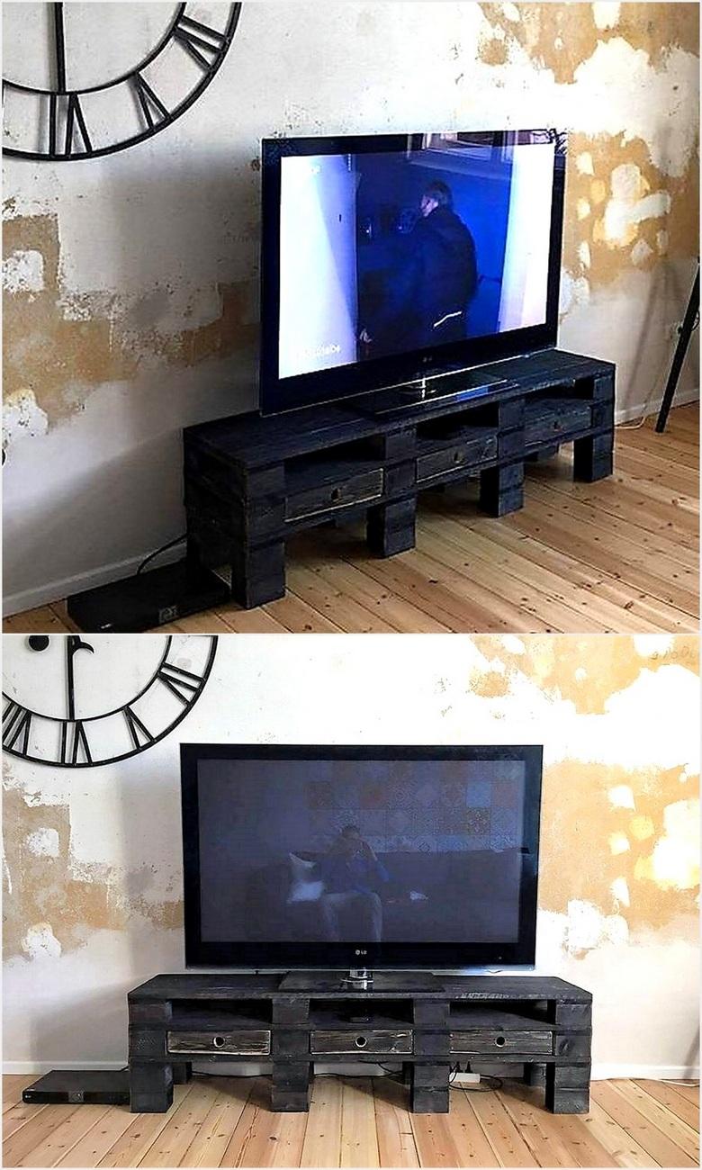 rustic-look-pallet-tv-stand