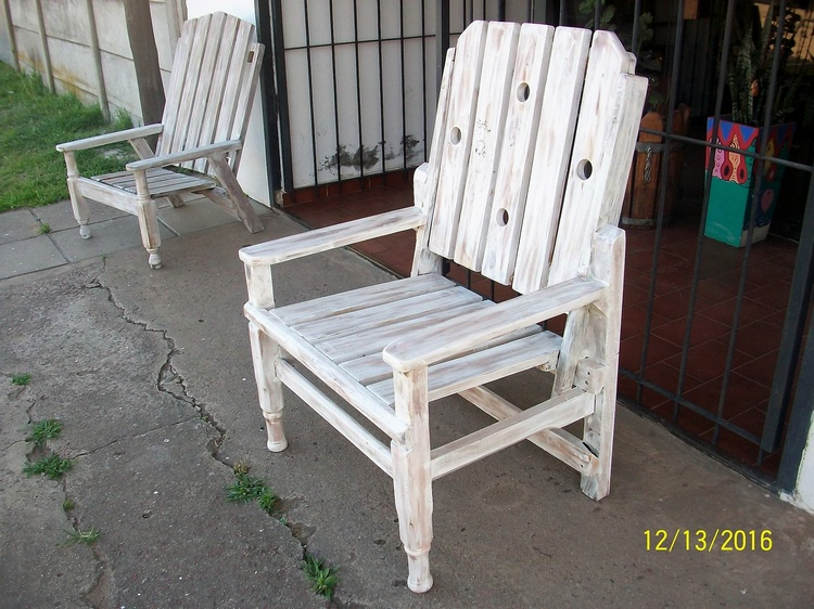 Rustic Pallet Wooden Chair