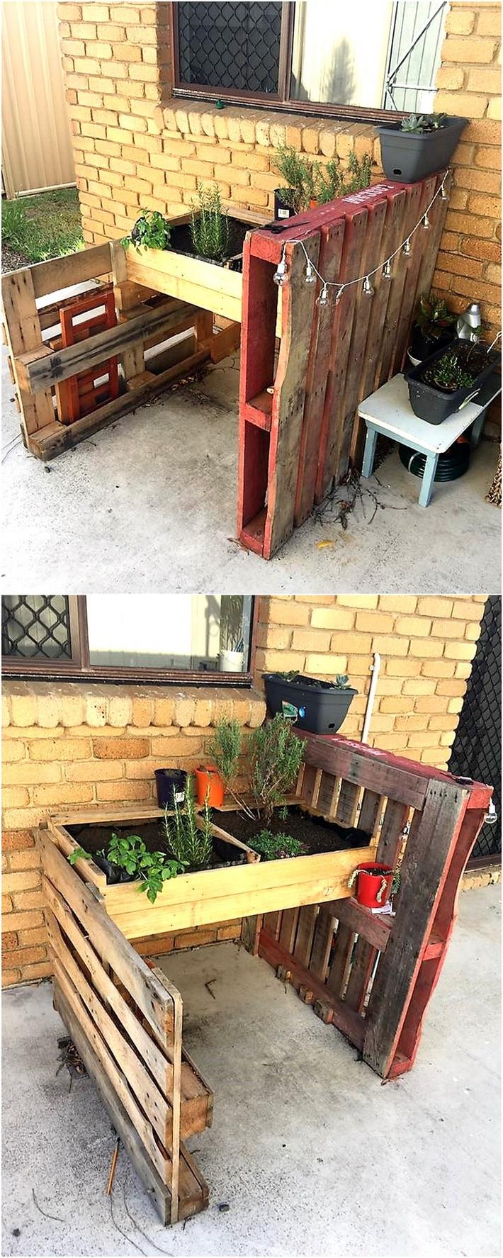 simple-pallets-herb-garden