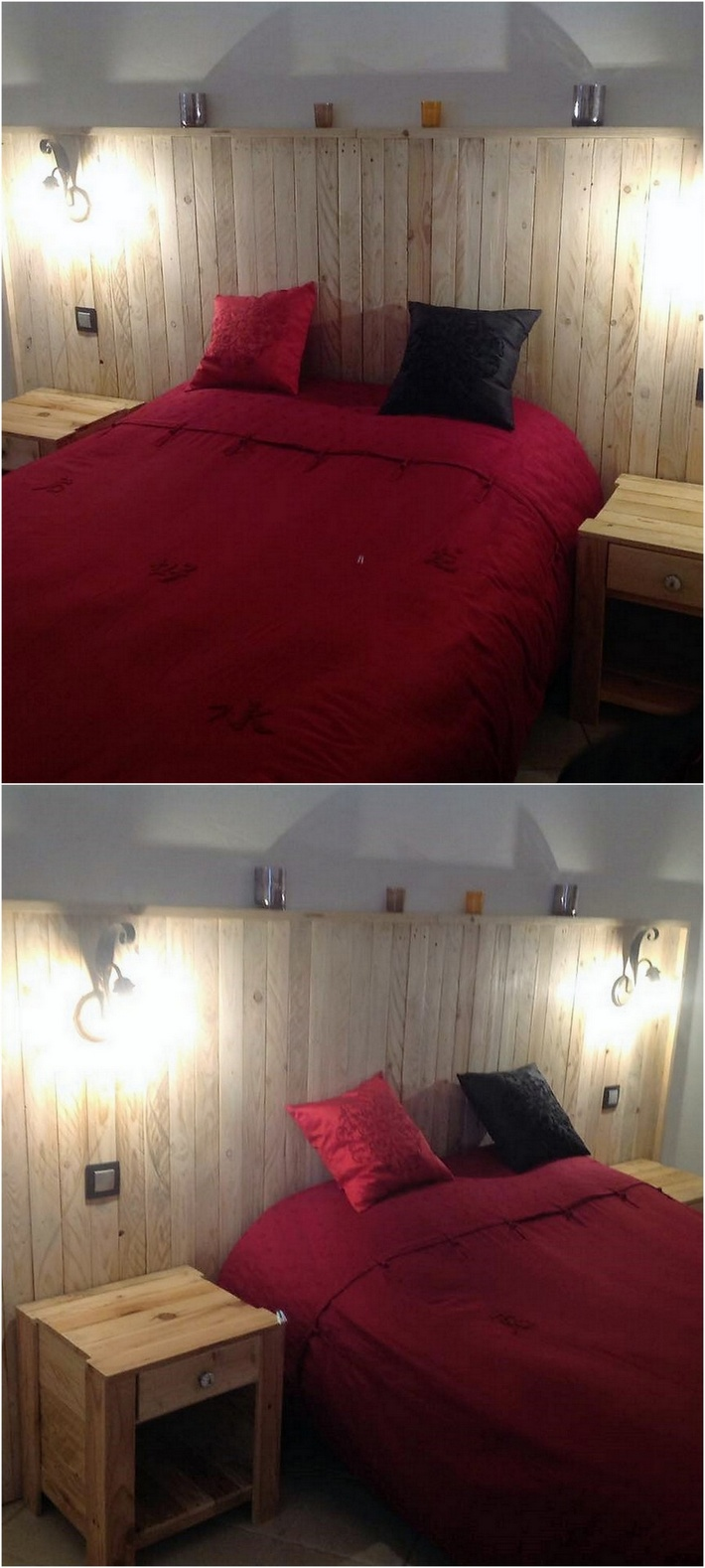 wood-pallet-bed-headboard-and-side-tables