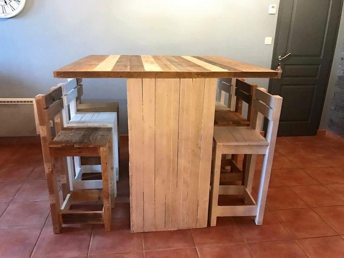 wooden-pallet-dinning-set
