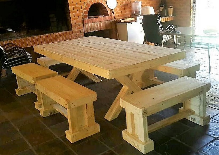 1 recycled pallet furniture