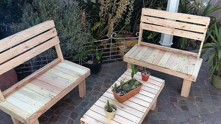 Wooden Pallets Reshaping Ideas