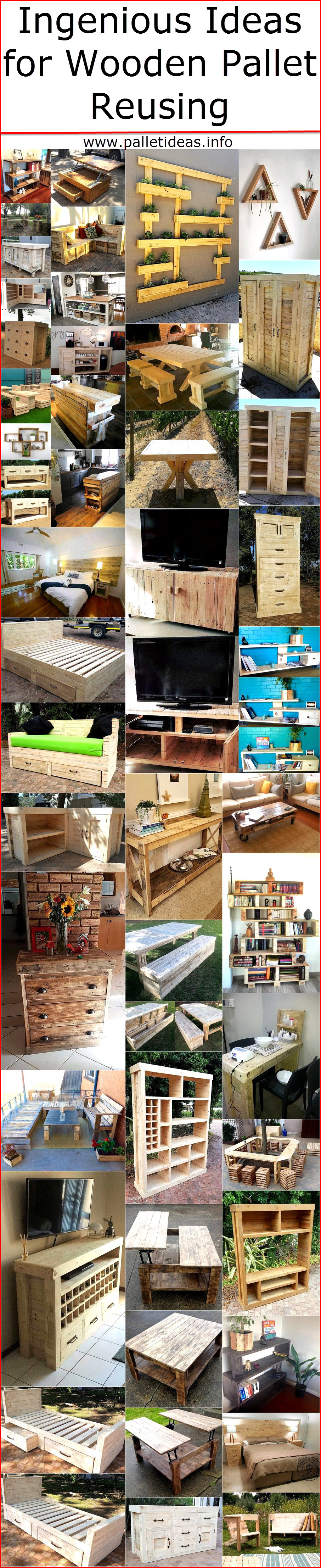 Ingenious Ideas for Wooden Pallet Reusing | Pallet Ideas