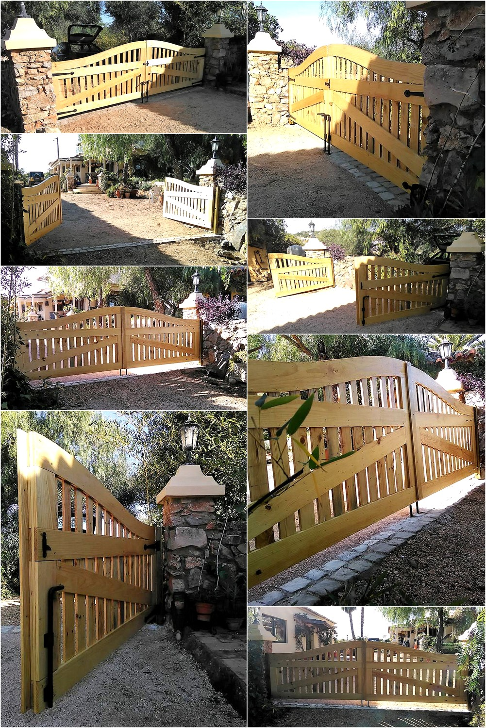 recycled-wood-pallets-made-gate
