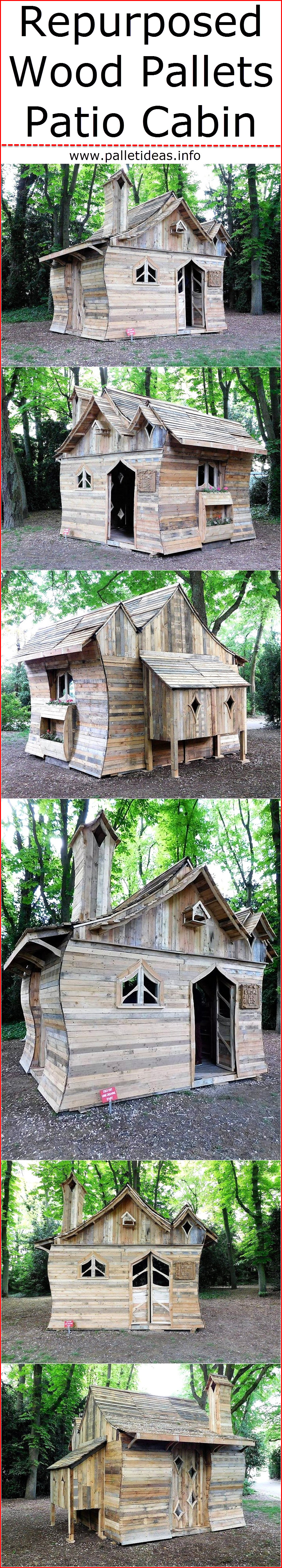repurposed-wood-pallets-patio-cabin