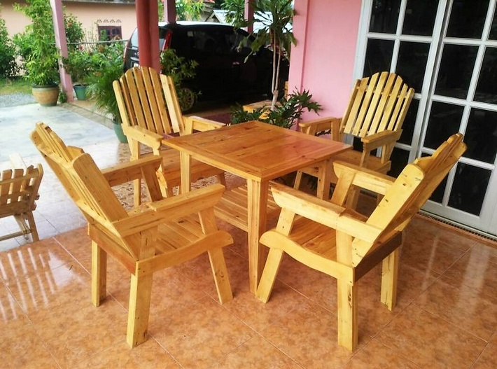 aziztukang - pallet outdoor furniture