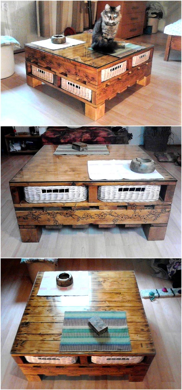 namestajodpaletapalettfurniture - wood pallet table