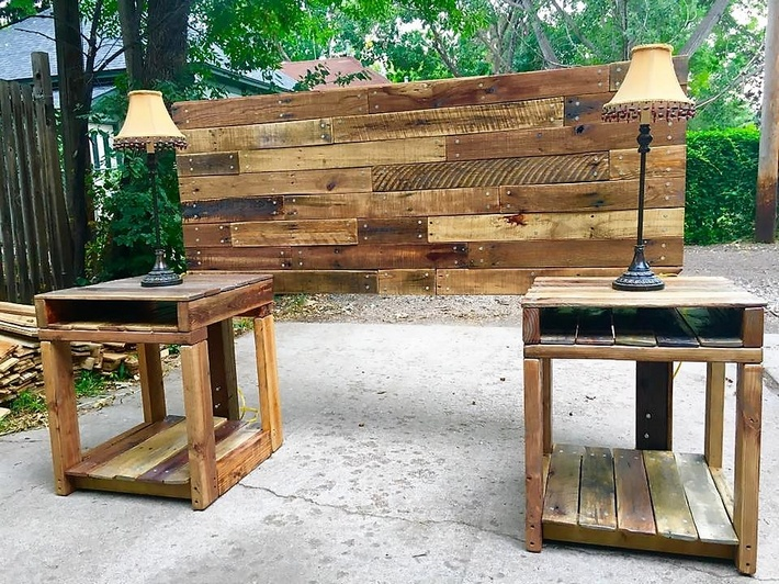pallet-bed-headboard-with-side-tables