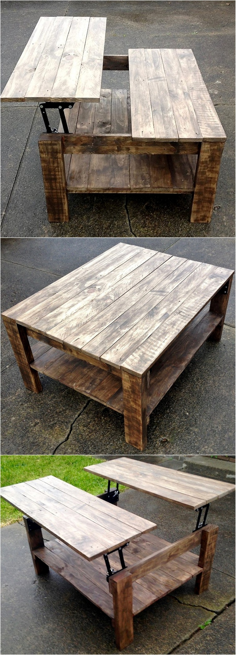Ingenious ideas for wooden pallet reusing pallet ideas for What to make out of those old wood pallets
