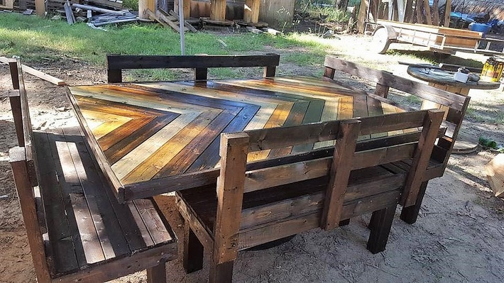 pallet farm style furniture