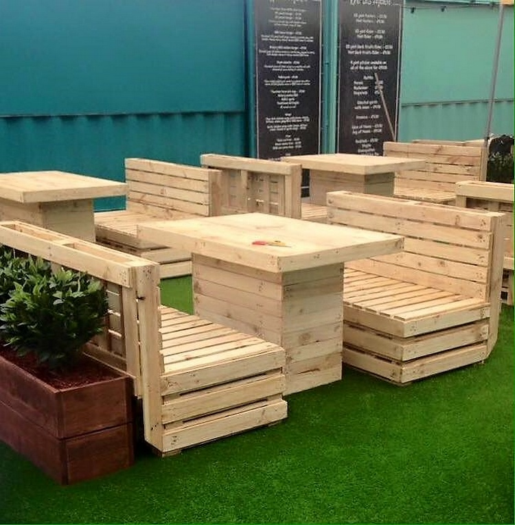 Ingenious Ideas For Wooden Pallet Reusing Pallet Ideas