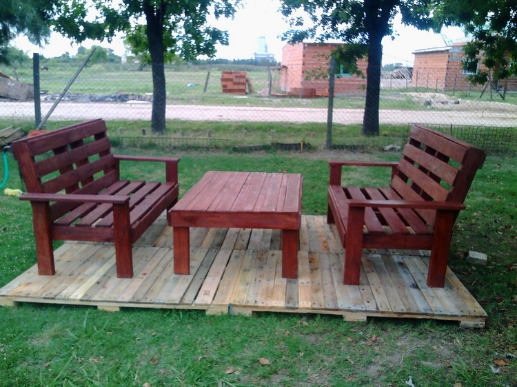 Wooden Pallet Creations By Monica Godoy Pallet Ideas