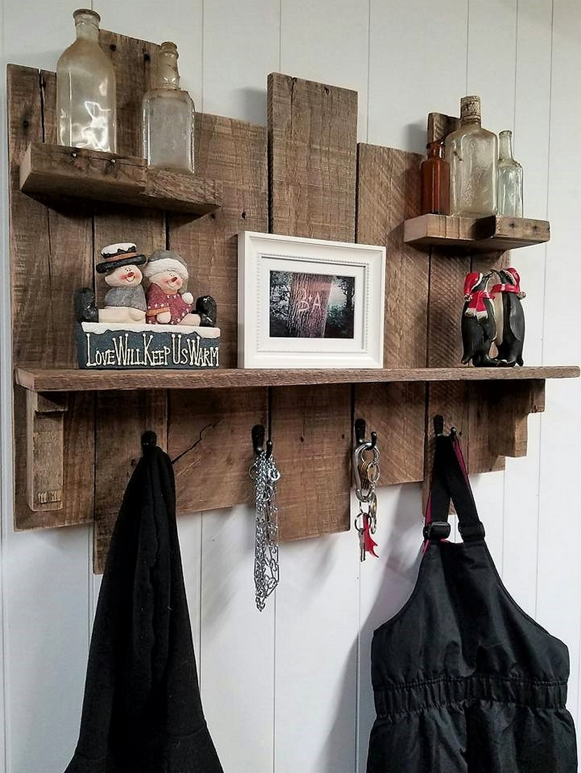 pallets made shelving