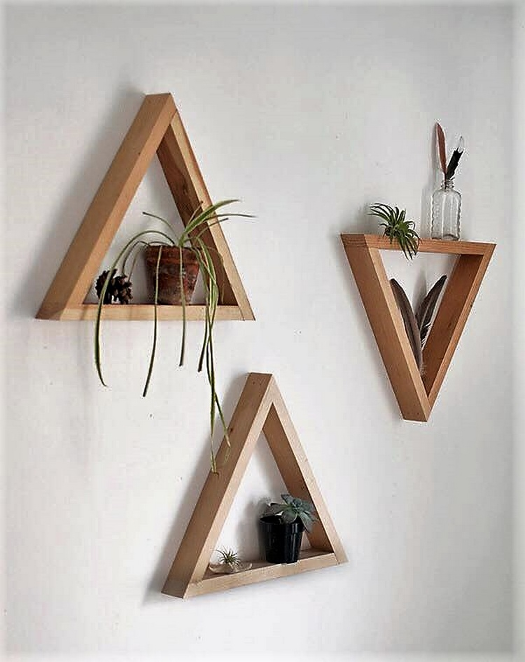 wall decor with pallets
