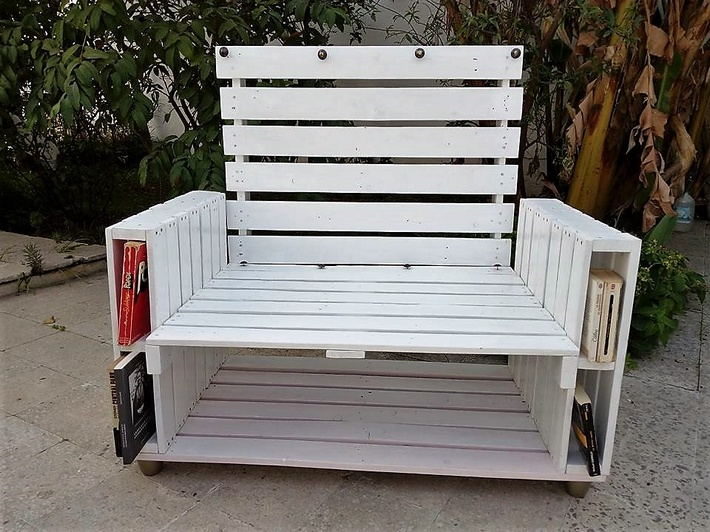 wood pallet patio furniture 2