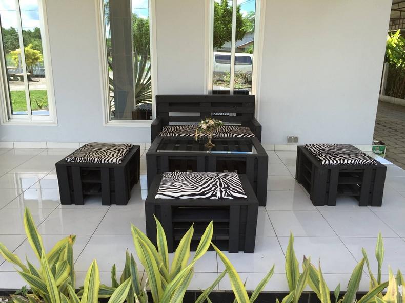 wooden pallet furniture plan