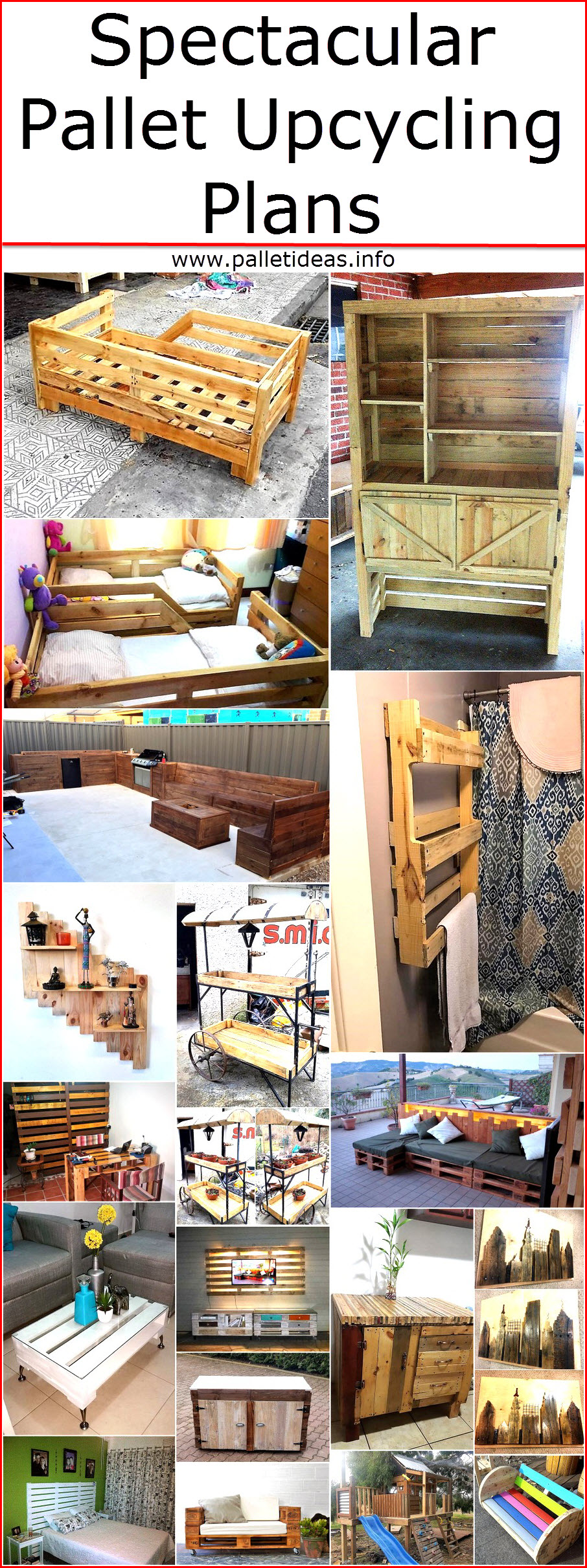 Spectacular Pallet Upcycling Plans