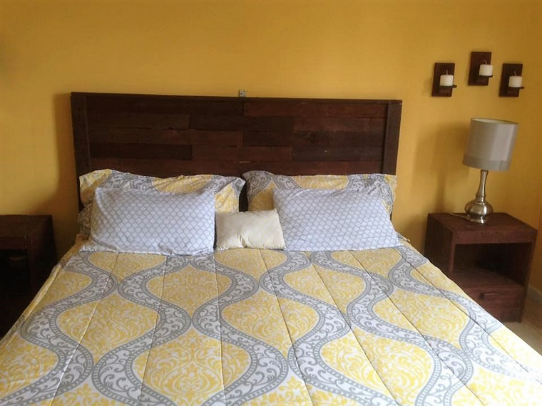 bedroom ideas with pallets