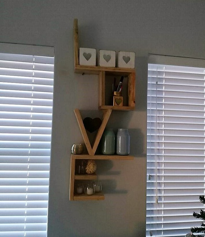 pallet love shelving