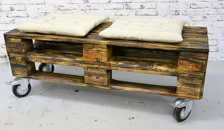 rustic pallet furniture plan 2
