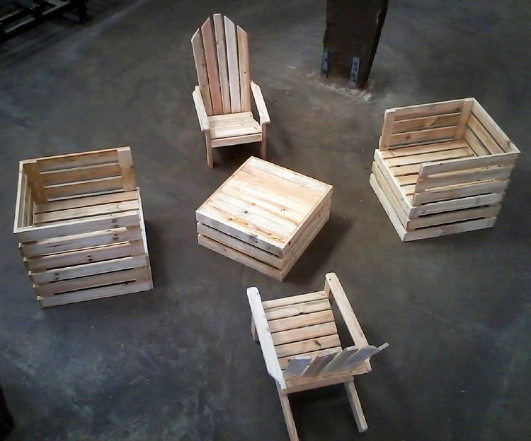 wooden pallets patio furniture