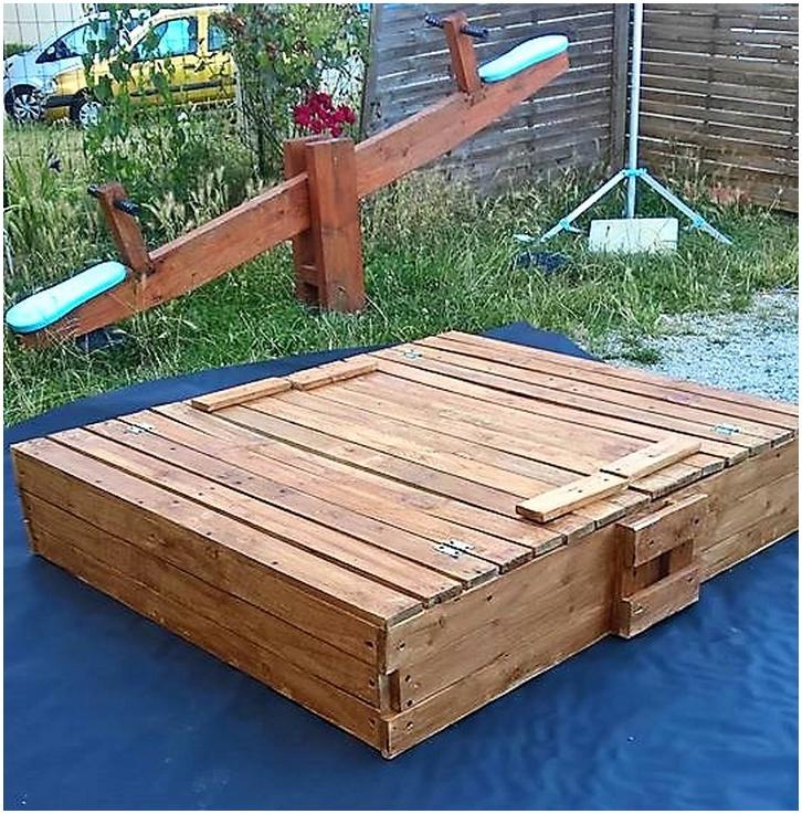 pallet sandbox plan