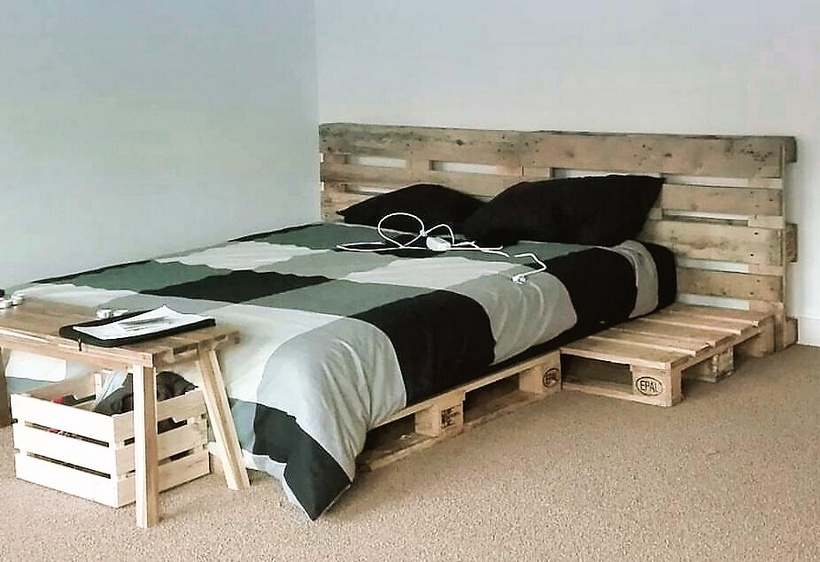 pallets bed plan