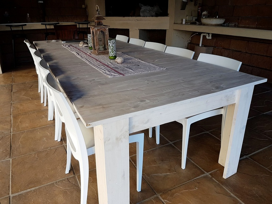 pallets dinning table