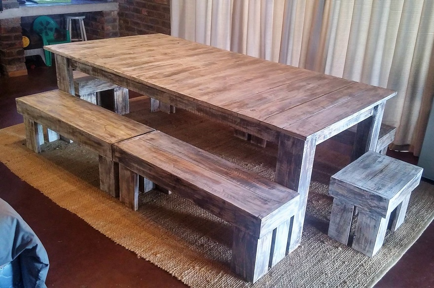 pallets dinnng table idea