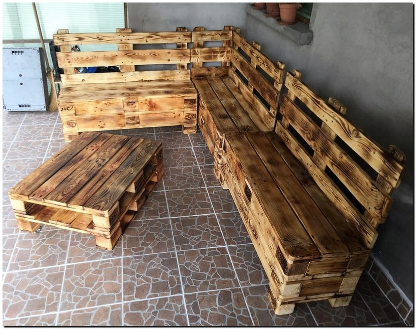 pallets wooden furniture