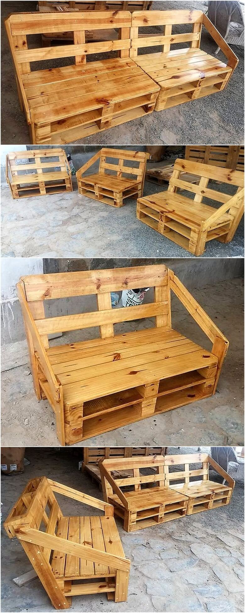 50 Awesome Wood Pallet Ideas for This Summer | Pallet Ideas - Part 6