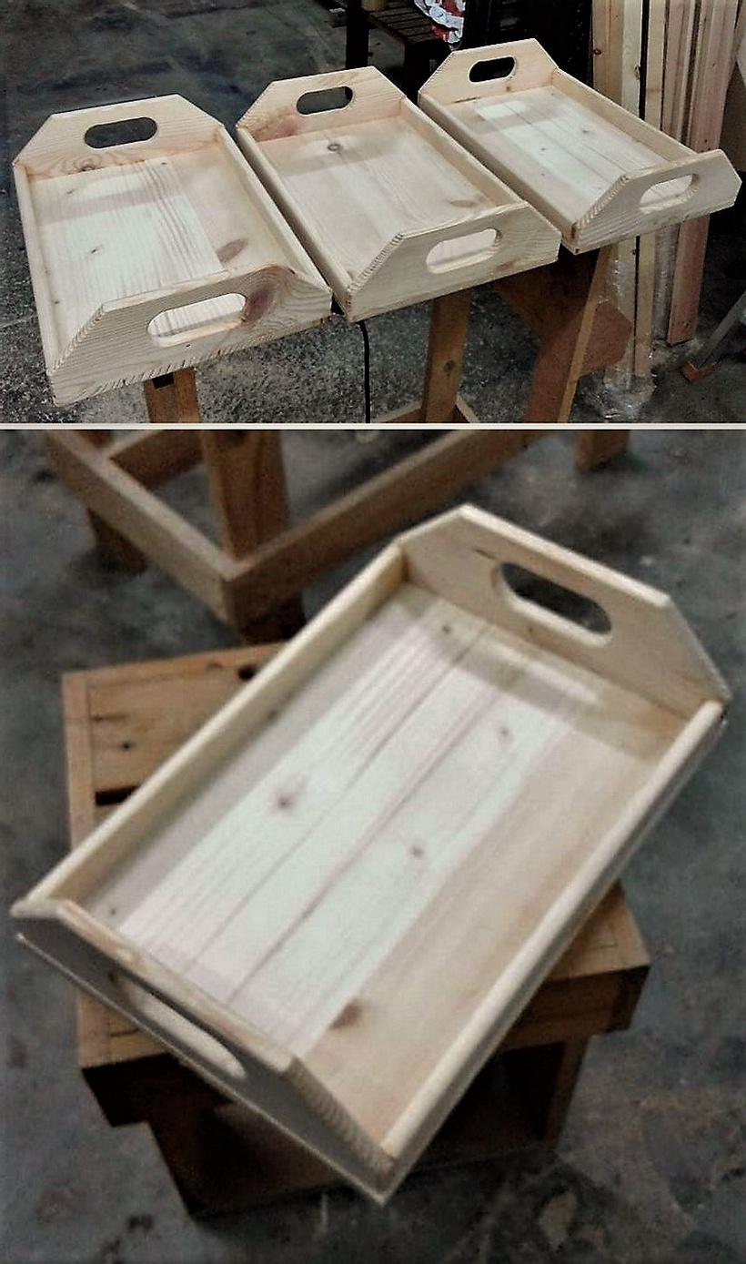 Easy to make wood pallet furniture ideas pallet ideas for Furniture making ideas