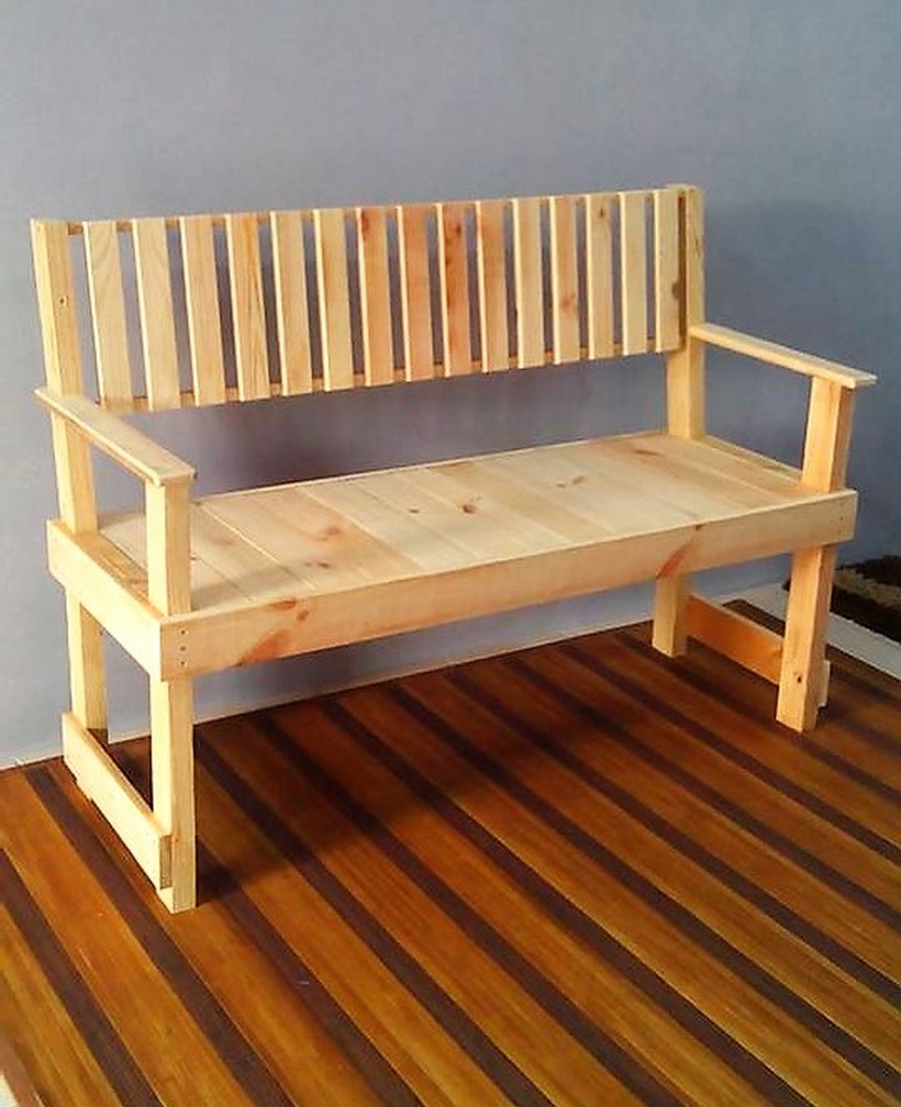 Easy To Make Wood Pallet Furniture Ideas Pallet Ideas