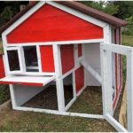 Wooden Pallets Made Chicken Coop