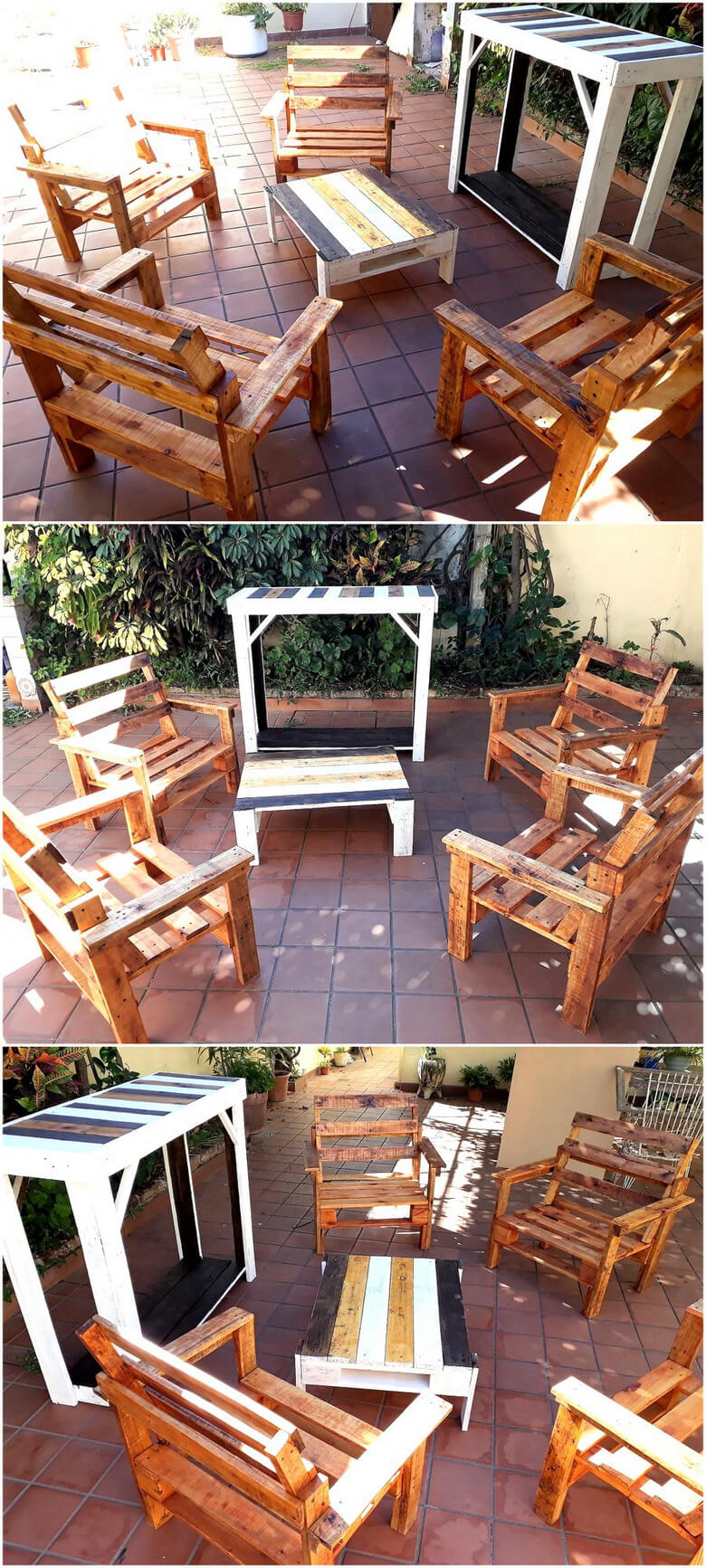 pallet outdoor furniture plan