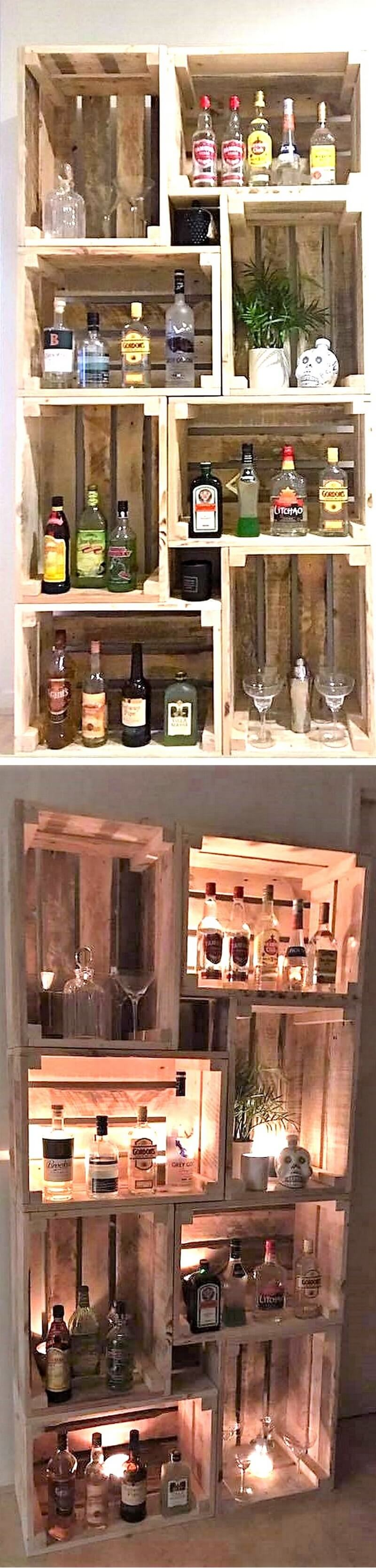 pallet shelving cabinet 1